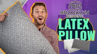Brooklyn Bedding Pillow Review (Best Talalay Latex Pillow?!)