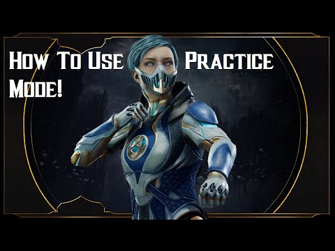 Mortal Kombat 11 Tutorial - How To Learn A Character And Use Practice Mode (FROST In The Lab!)