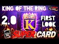 First Look and Details About the Brand New King of the Ring 2.0! Noology WWE Supercard Season 4