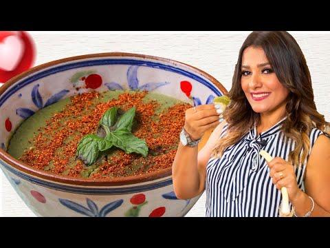 بصاره وطماطم مخللة  الاكلات المصرية الاصيلة على طريقة فيفيان فريد
