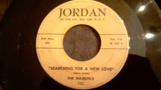 Majestics - Searching For A New Love - Uptempo Trenton NJ Doo Wop