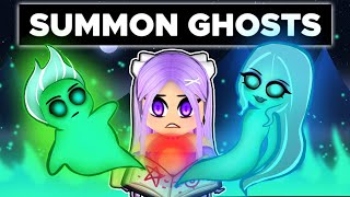 We HELP Summon GHOSTS In Roblox!