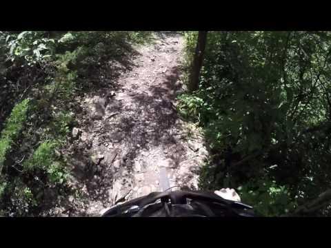 Extreme biking in Kansas *Super Rocky*