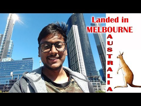 LANDED IN AUSTRALIA MELBOURNE !!