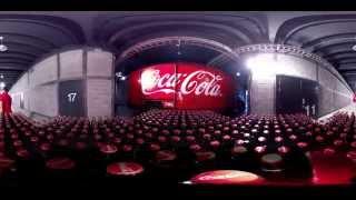 WOOW!!! Реклама Coca Cola в 360 градусов! Панорамное видео!(Больше видео ▻▻▻ https://vk.com/panoramnoevideo360 ◅◅◅ Обязательно смотреть видео в 360 градусов в очках виртуальной..., 2015-09-07T20:02:03.000Z)