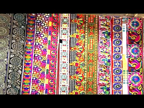 Laces & Borders for Sarees, Half Sarees and Dresses