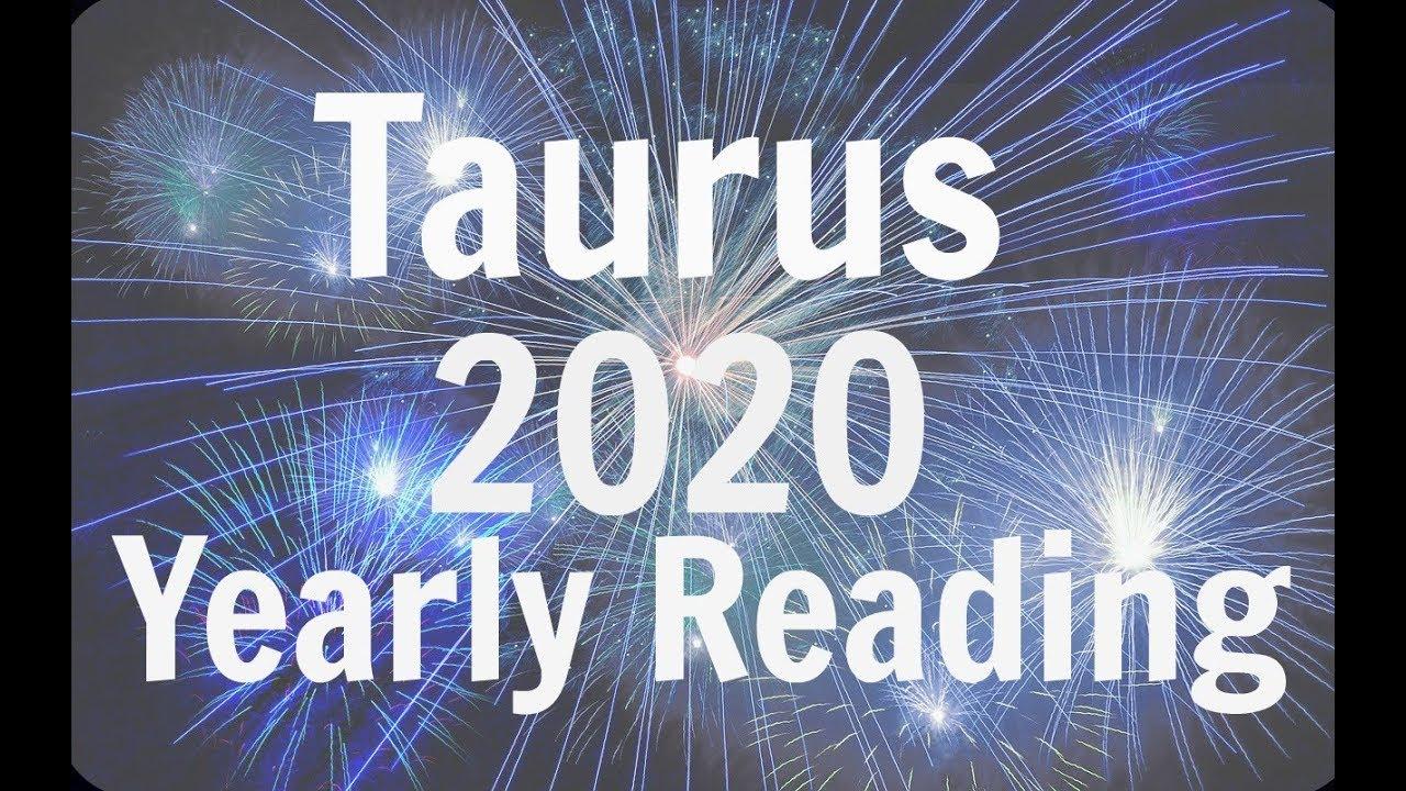Taurus Yearly Horoscope for 2020