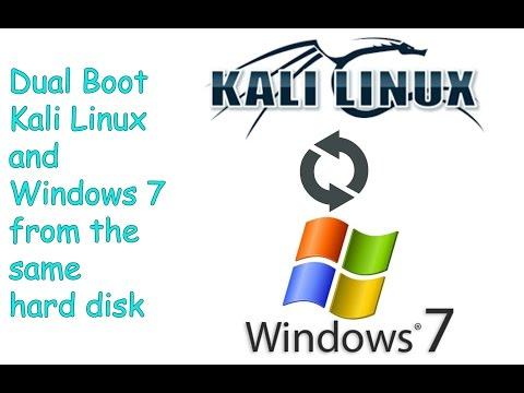 Install Kali Linux Alongside Windows 7 | Dual Boot Kali Linux and Windows 7 [Step By Step Guide]