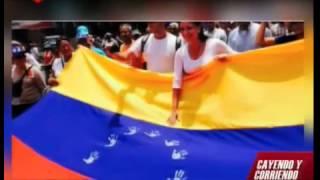 Mi bandera de Venezuela se respeta: Opositores irrespetan tricolor nacional