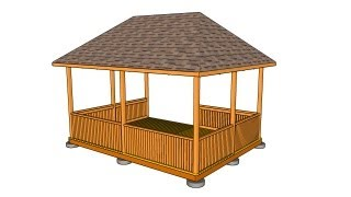 Rectangular Gazebo Plans