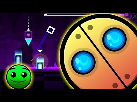 Geometry Dash World   Secret Way in Monster Dance Off
