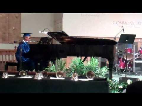 Nickolas Singing Smokie Norful Dear God At 8th Grade Graduation