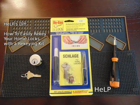 [48] How To Easily Rekey Your Door Lock with a Rekeying Kit