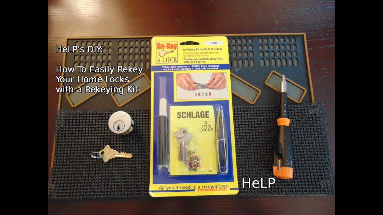 [48] How To Easily Rekey Your Door Lock with a Rekeying Kit & 48] How To Easily Rekey Your Door Lock with a Rekeying Kit - YouTube