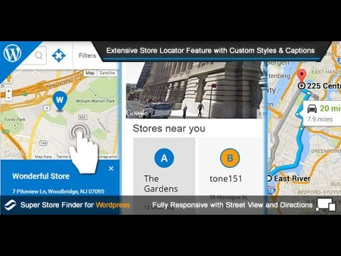 Super Store Finder for WordPress - Store Locator WordPress Plugin 2015