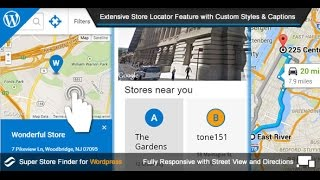 Super Store Finder for Wordpress - Store Locator Wordpress Plugin 2015