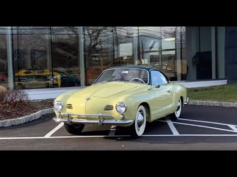 1958 Volkswagen Karmann Ghia Low Light Coupe @ Gaswerks Garage