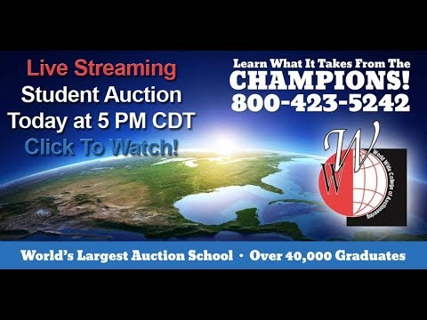 World Wide College of Auctioneering February 2019 Student Auction