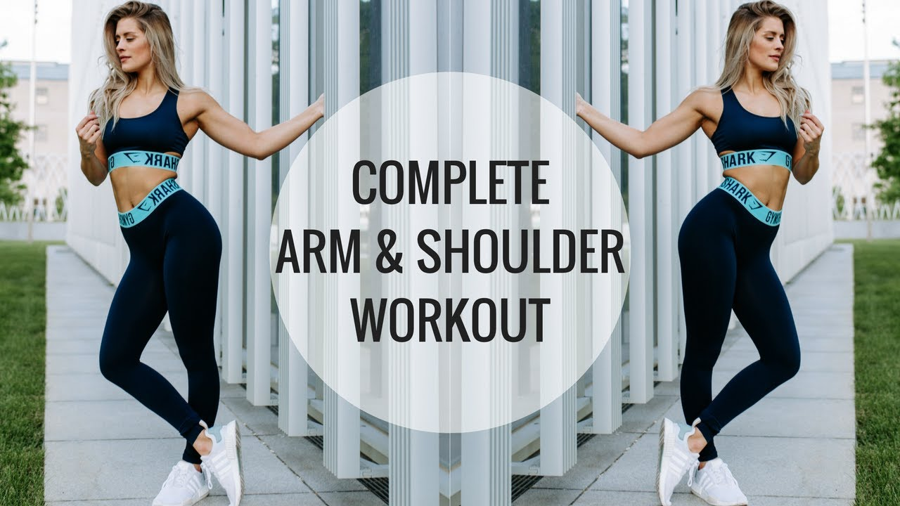 Arm Workout Shoulder And Arm Routine Youtube