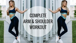 ARM WORKOUT | Shoulder and Arm Routine