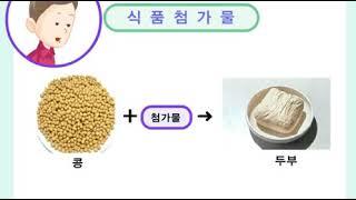 [어린이교실] 식품안전 - 식품첨가물의 정의