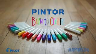 PILOT PINTOR - water-based paint marker suitable for use on all surfaces