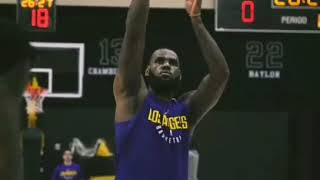 NBA▪LeBron James' First Laker Workout 2018