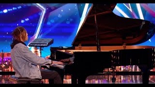 Pianist Tokio Myers Delivers an Amazing Beautiful Song | Week 3 | Britain's Got Talent 2017