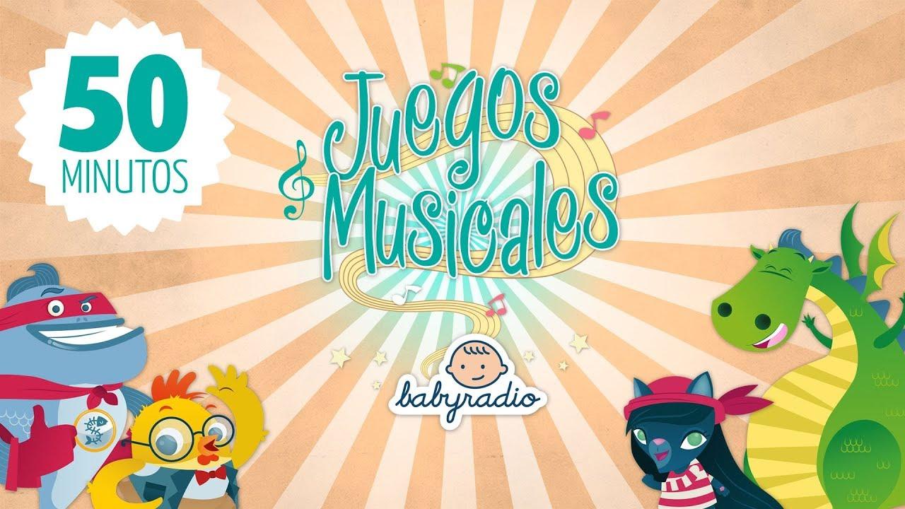 Los Mejores Juegos Musicales Para Niños Más De 50 Minutos De Diversión Youtube