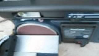 Craftsman Belt/disc Combo Sander Break In
