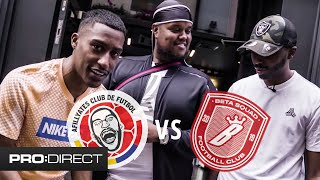 CHUNKZ & SHARKY VS YUNG FILLY | CUSTOM KIT DESIGN!!! | WIN AN EXCLUSIVE SHIRT
