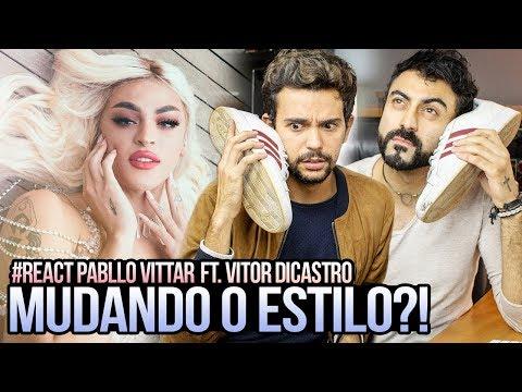 REAGINDO a Pabllo Vittar - Disk Me feat Vitor diCastro