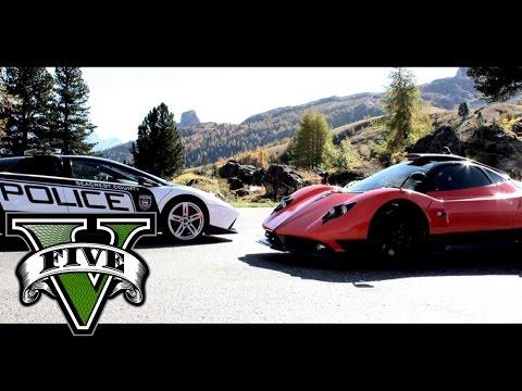 GTA V NFS Hot Pursuit Live Action Trailer PS4