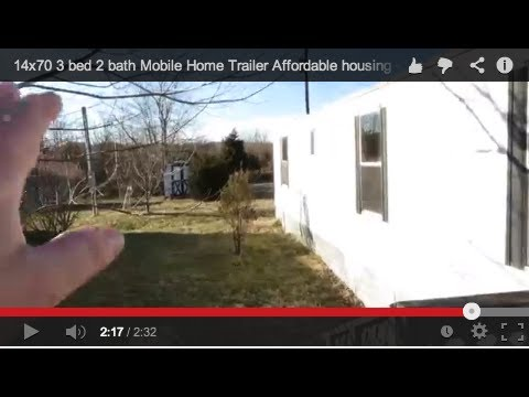 14x70 3 bed 2 bath Mobile Home Trailer Affordable housing - take over  payments