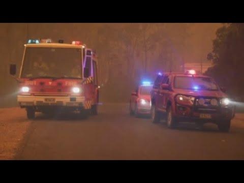 Australia ordena nuevas evacuaciones por los incendios, que ya han causado 17 muertos