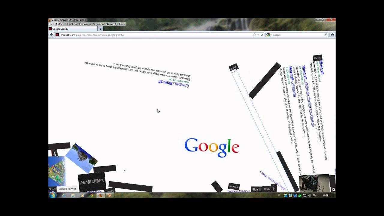 0b6b557d857 VIDEO-CAZZATA 6   Cazzeggio con Google Gravity - YouTube
