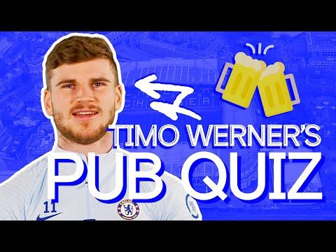Testing Werner's British Slang & Chelsea Knowledge 🤣| Timo Werner's Pub Quiz