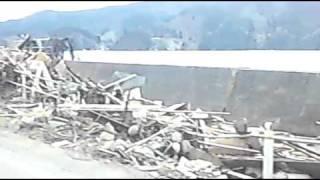 東日本大震災 雄勝半島 雄勝町庁舎周辺