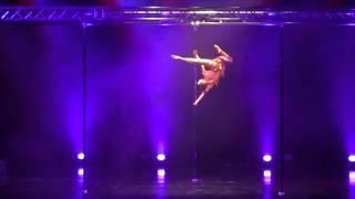 Alisa Pleskova- IPC World Pole Dance Championship 2013- Singapoure