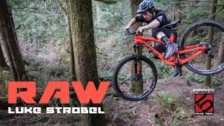 Ripping 29er - #VitalRAW with Luke Strobel in the PNW