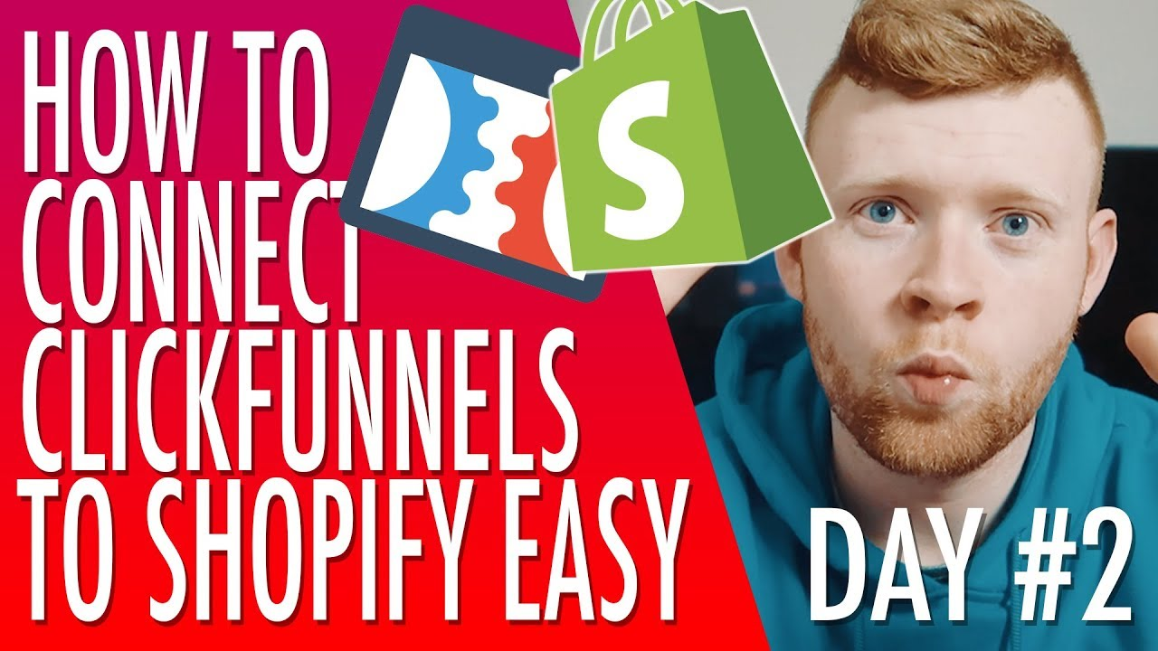 Clickfunnels Training #2: How To Connect Clickfunnels To Shopify & Oberlo