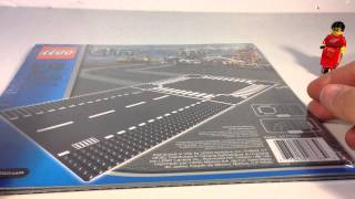 LEGO 7280 Straight & Crossroad Plates - Nobody wants the crossroad baseplate!