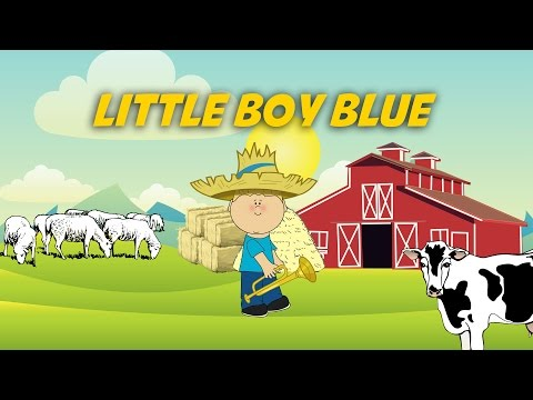 Little Boy Blue   Free Nursery Rhymes [Karaoke with Lyrics]