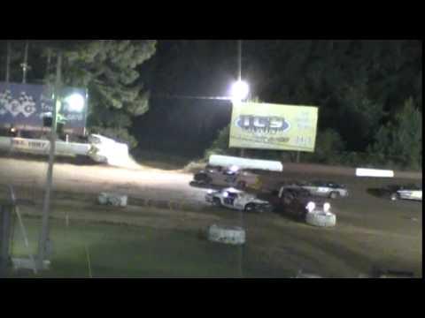 Crowley's Ridge Raceway 8/2/14 #21 Chris Sims Street Stock Feature Race