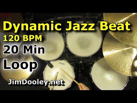 20 Minute Beat - Dynamic Jazz Beat 120 BPM