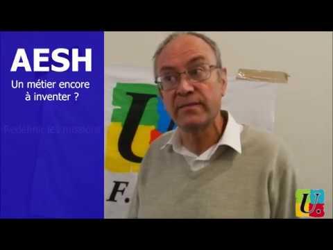 Le métier d'AESH vu par Grégoire Cochetel - YouTube