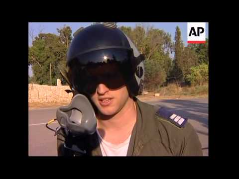 Israeli Pilots Comment On Missions Over Lebanon