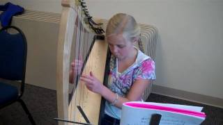 azaleas in houston - beginning harp student