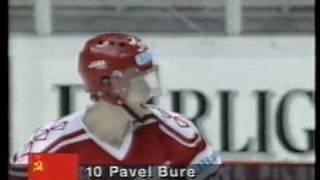 Pavel Bure. USSR - Sweden
