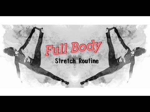 FULL BODY STRETCHES | POST WORKOUT | STRETCH ROUTINE 2018 | ABS, LEGS, ARMS AND BACK | SLIM LADY